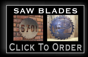Metal Saw Blade Signs NJ